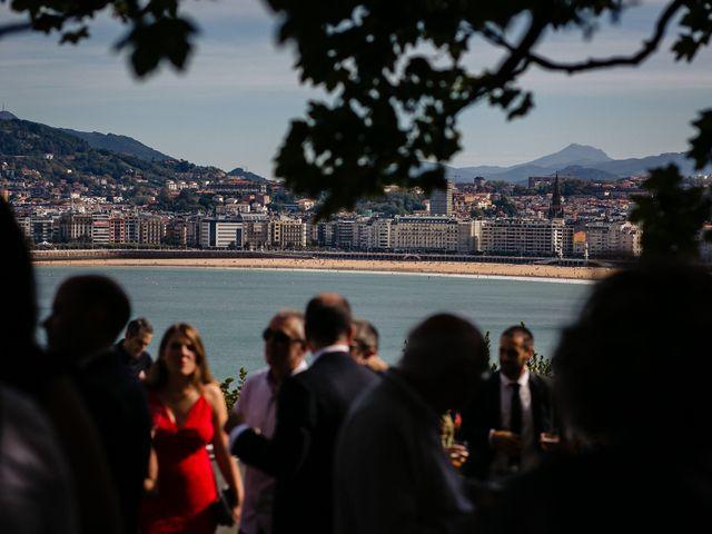 La boda de Iñaki y Amaia en Donostia-San Sebastián, Guipúzcoa 46