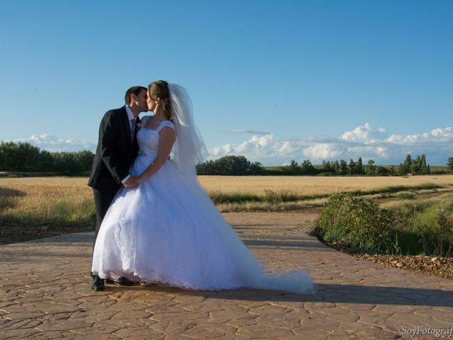 La boda de Alberto y Elena en Boadilla De Rioseco, Palencia 10