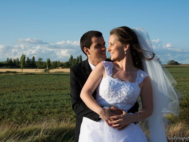 La boda de Alberto y Elena en Boadilla De Rioseco, Palencia 11