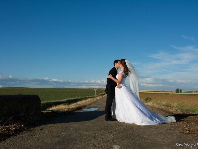 La boda de Alberto y Elena en Boadilla De Rioseco, Palencia 12