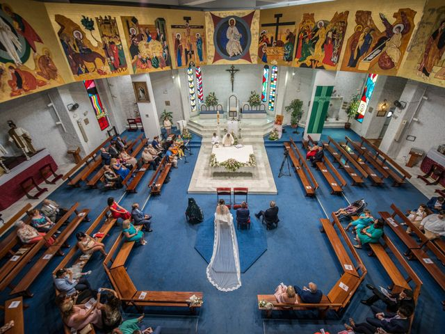 La boda de José Angel y Marta en Zahara De Los Atunes, Cádiz 1