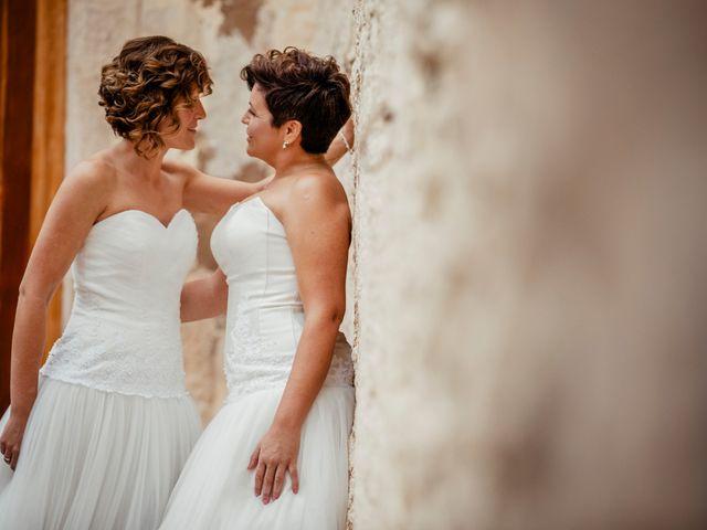 La boda de Alba y Yolanda en Playa De Daimús, Valencia 30