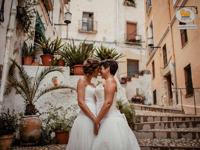 La boda de Alba y Yolanda en Playa De Daimús, Valencia 33
