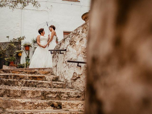 La boda de Alba y Yolanda en Playa De Daimús, Valencia 34