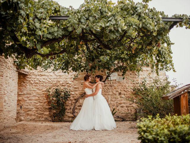 La boda de Alba y Yolanda en Playa De Daimús, Valencia 36