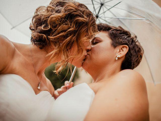 La boda de Alba y Yolanda en Playa De Daimús, Valencia 2