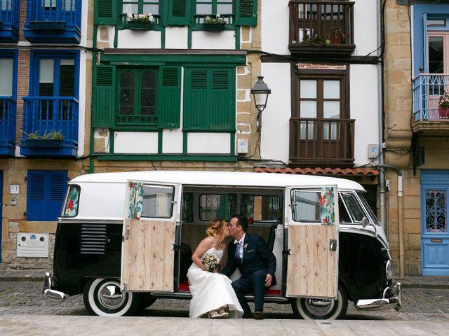 La boda de Ivan y Itziar en Hondarribia, Guipúzcoa 18