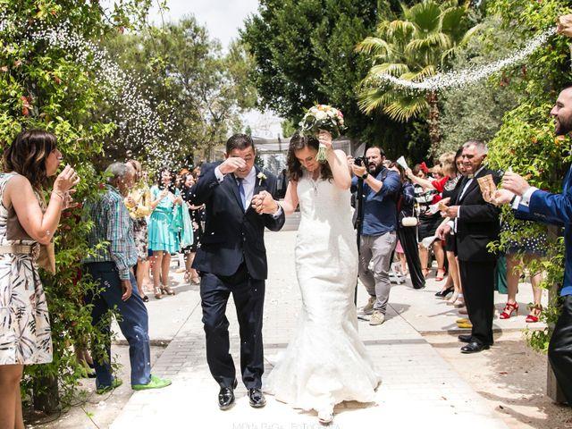 La boda de Roger y Inma en Vila-real/villarreal, Castellón 60