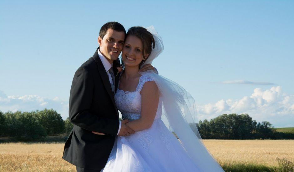 La boda de Alberto y Elena en Boadilla De Rioseco, Palencia