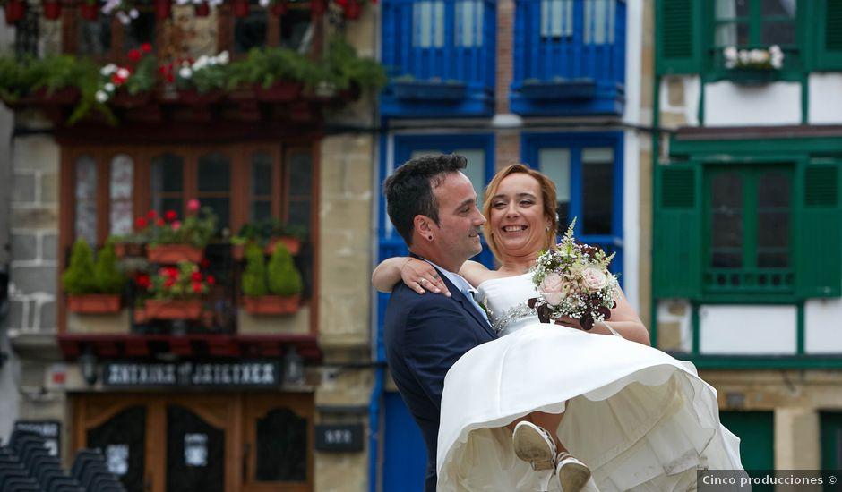 La boda de Ivan y Itziar en Hondarribia, Guipúzcoa