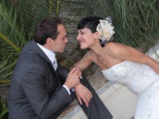 La boda de Brenda y David
