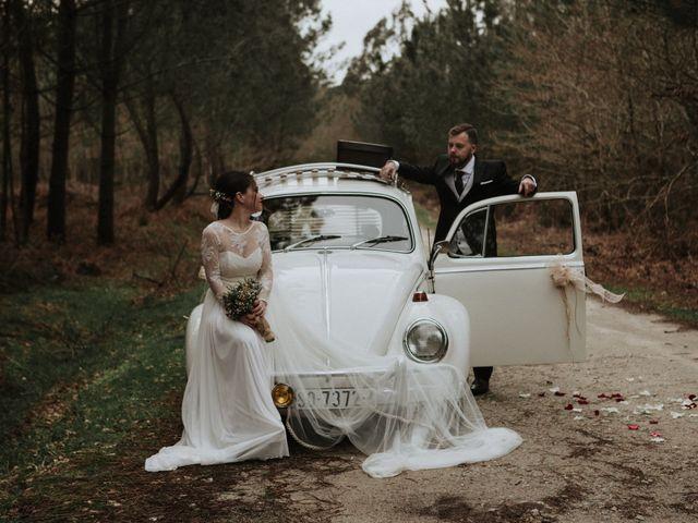 La boda de Alberto y Alba en Raris, A Coruña 43