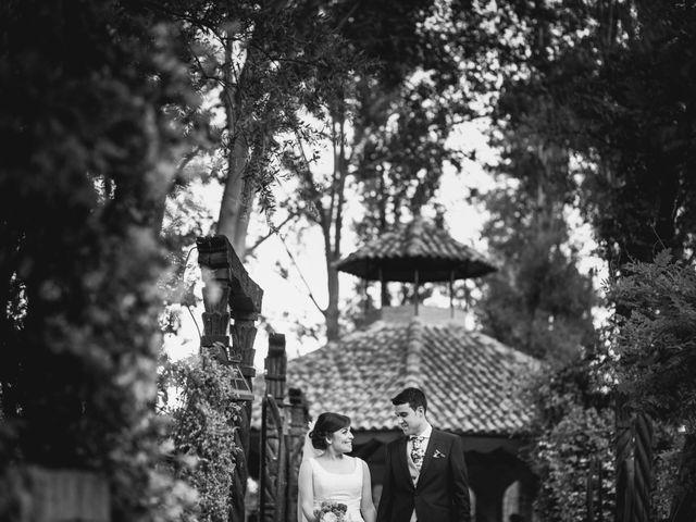 La boda de Carlos y Cristina en Alalpardo, Madrid 1