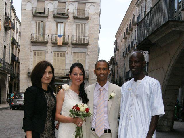 La boda de Ibrahima y Sylvia en Girona, Girona 4