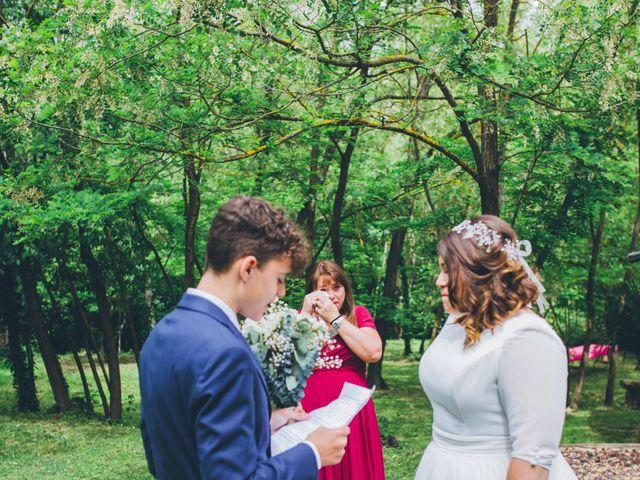 La boda de Daniel y Tatiana en Sant Marti Vell, Girona 7