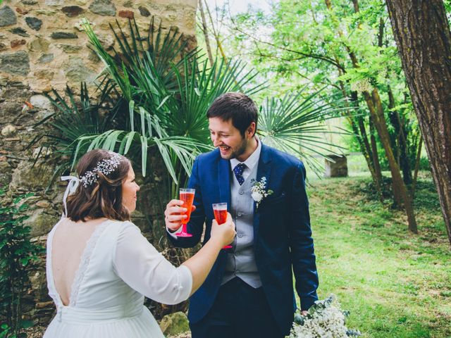 La boda de Daniel y Tatiana en Sant Marti Vell, Girona 11