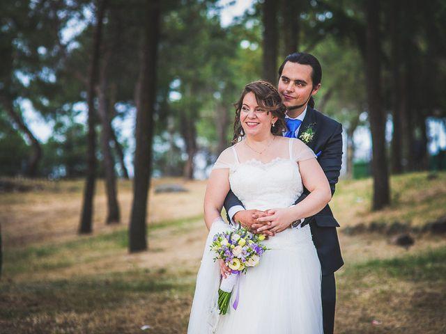 La boda de Javier y Natalia en Madrid, Madrid 47