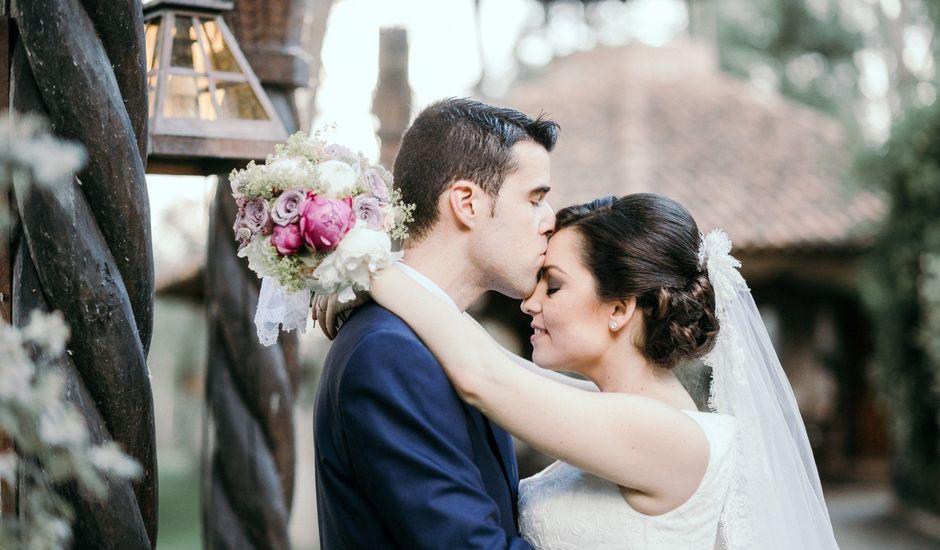 La boda de Carlos y Cristina en Alalpardo, Madrid