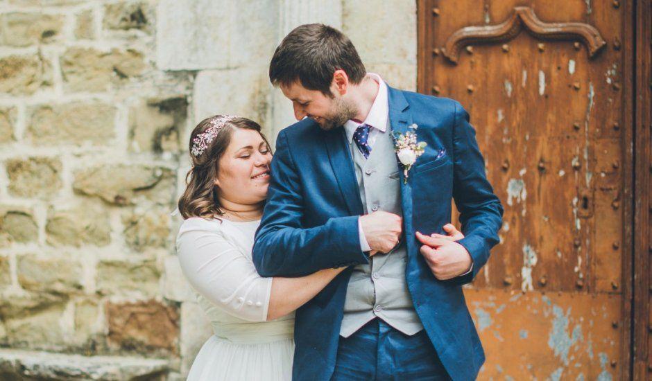 La boda de Daniel y Tatiana en Sant Marti Vell, Girona
