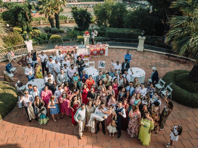 La boda de Alberto y Simi en Sant Vicenç De Montalt, Barcelona 44
