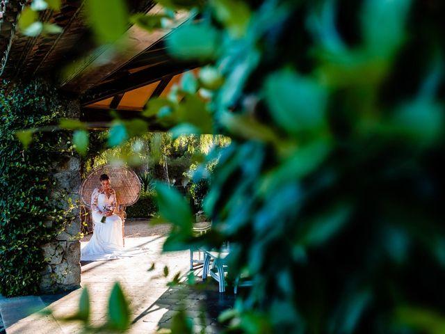 La boda de Carina y Miguel en Sant Andreu De Llavaneres, Barcelona 36