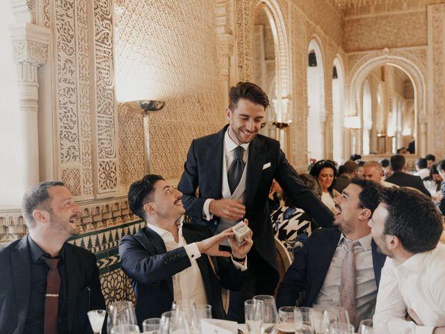 La boda de Isabel y Sergio en Granada, Granada 189