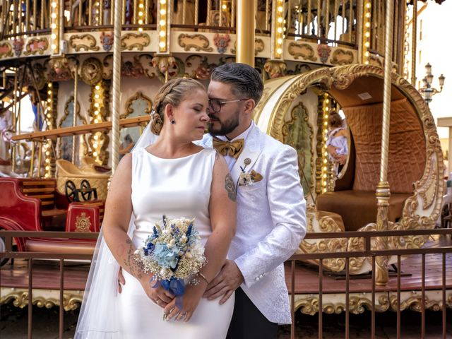La boda de Mamen y José Domingo en Cádiz, Cádiz 11
