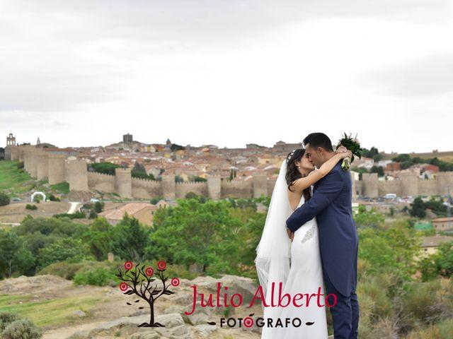 La boda de Josemari y Marta Maria en El Barraco, Ávila 10