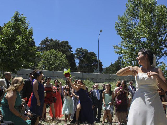 La boda de Javier y Raquel en San Rafael, Segovia 1