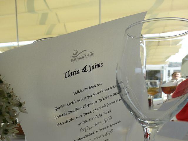 La boda de Jaime y Ilaria en Núcleo Albir, Alicante 25