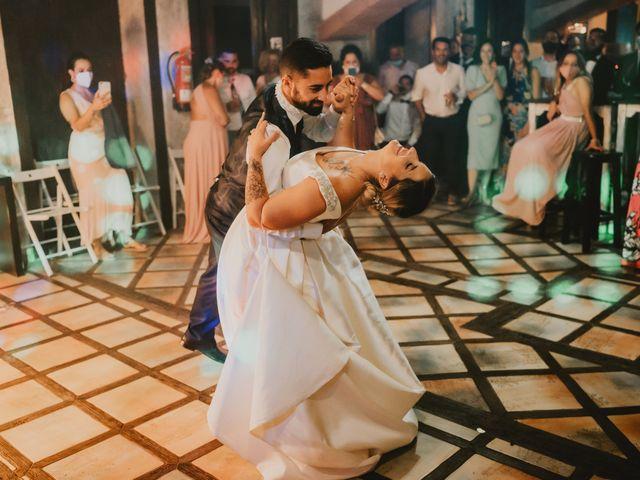 La boda de Aythami y Coraima en Arrecife, Las Palmas 114