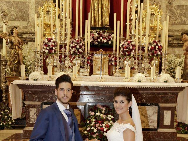 La boda de Borja y Laura en Bollullos De La Mitacion, Sevilla 13