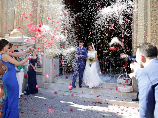 La boda de Borja y Laura en Bollullos De La Mitacion, Sevilla 14