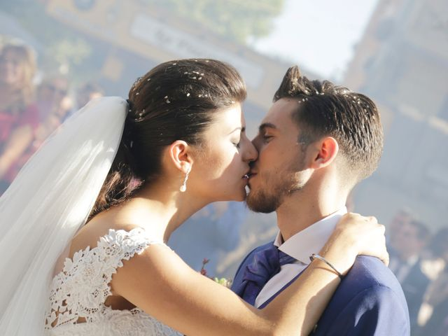 La boda de Borja y Laura en Bollullos De La Mitacion, Sevilla 15