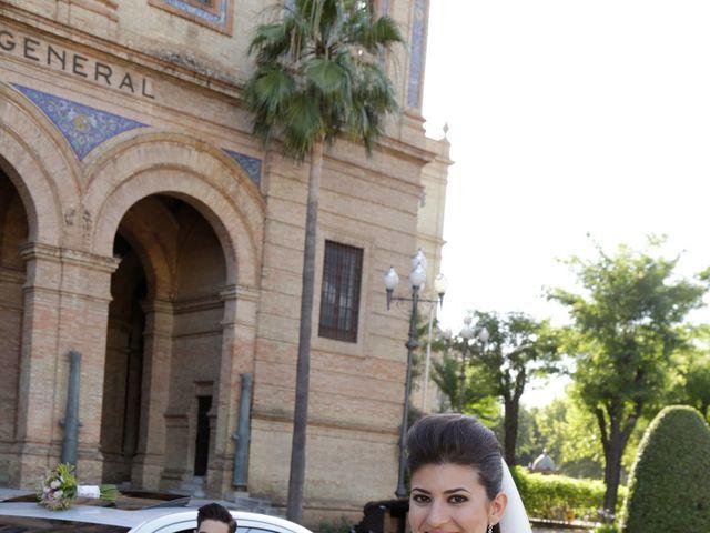 La boda de Borja y Laura en Bollullos De La Mitacion, Sevilla 16