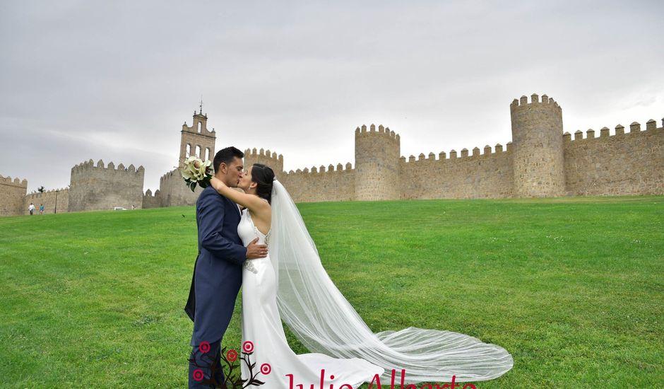 La boda de Josemari y Marta Maria en El Barraco, Ávila