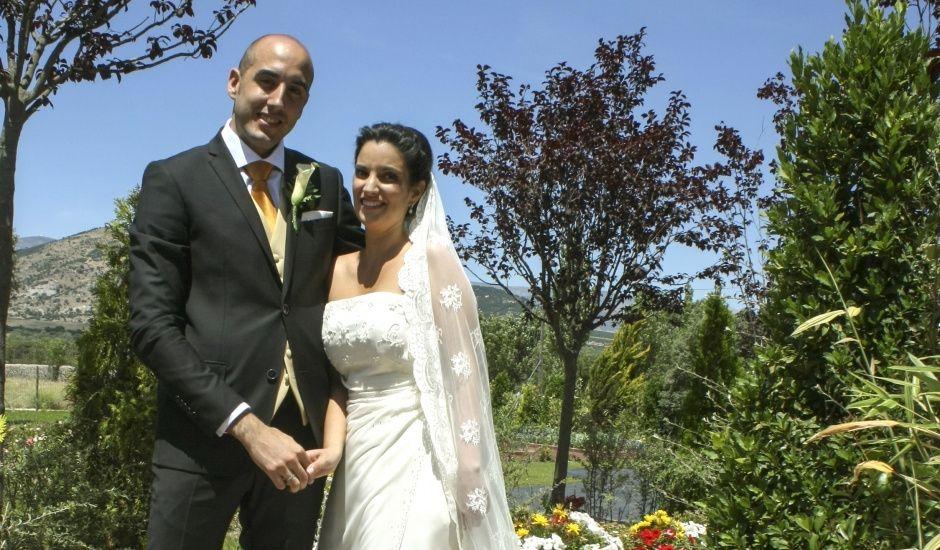 La boda de Javier y Raquel en San Rafael, Segovia