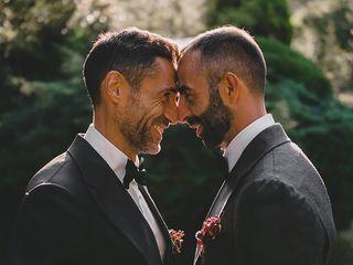 La boda de Esteban y Fernando