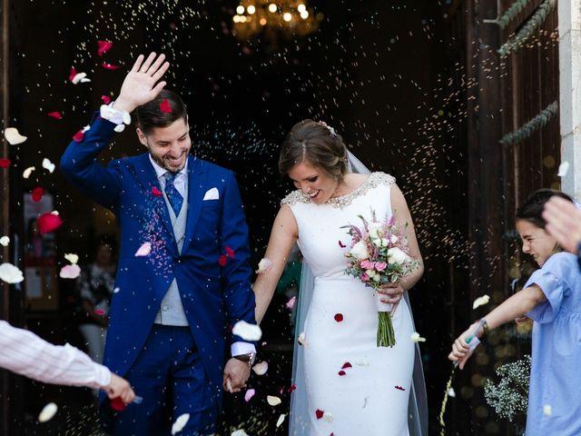 La boda de Miguel y Elena en Llerena, Badajoz 1
