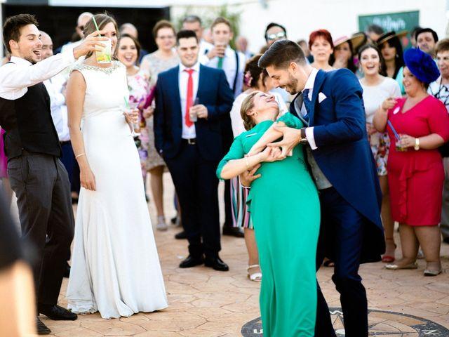 La boda de Miguel y Elena en Llerena, Badajoz 36