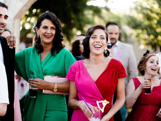 La boda de Miguel y Elena en Llerena, Badajoz 39
