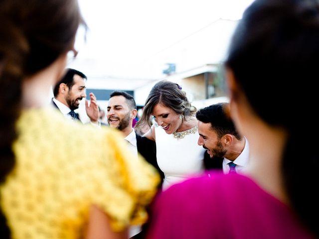 La boda de Miguel y Elena en Llerena, Badajoz 43