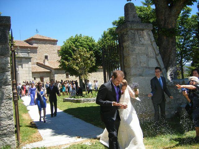 La boda de Nacho y Itziar en El Espinar, Segovia 8