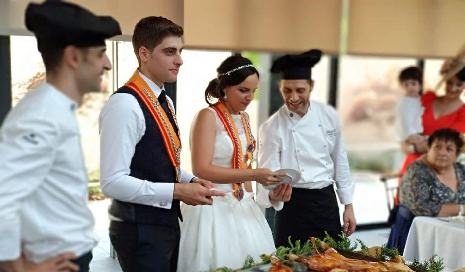 La boda de Rubén  y Ana  en Zarzuela Del Pinar, Segovia