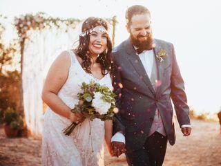 La boda de Fina y Salva