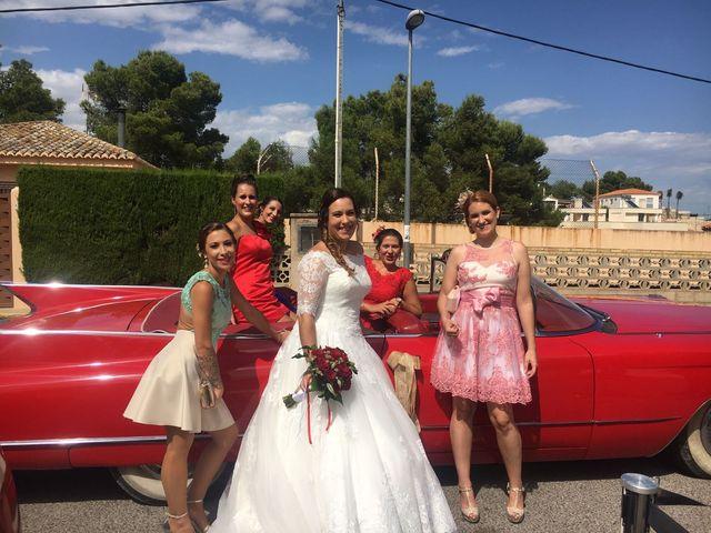 La boda de Sergio Bonet Catalá y Lola Carbonell Asensi en Alginet, Valencia 6