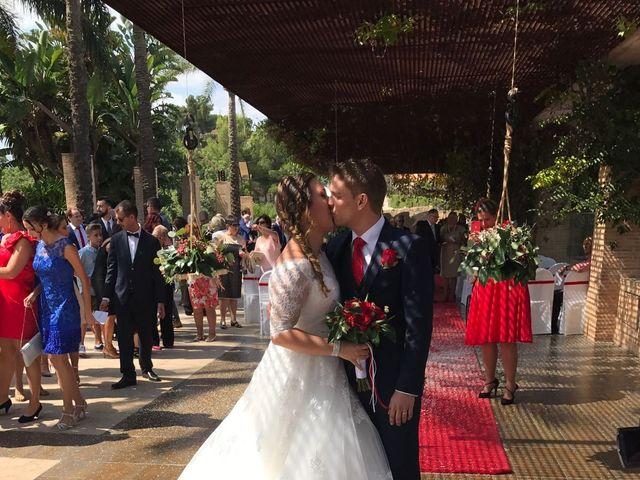 La boda de Sergio Bonet Catalá y Lola Carbonell Asensi en Alginet, Valencia 15