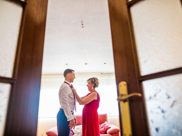 La boda de Mario y Lucía en El Escorial, Madrid 11