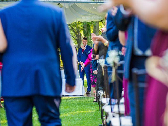 La boda de Mario y Lucía en El Escorial, Madrid 30