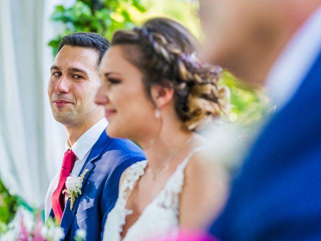 La boda de Mario y Lucía en El Escorial, Madrid 34